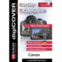 Comprar Protección pantalla  - digiCOVER Hybrid Glass Display Cover Canon EOS 800D