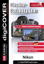 Comprar Protección pantalla  - digiCOVER Hybrid Glass Display Cover  Nikon Z6 Z7 G6002