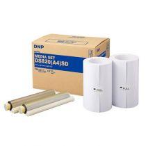 achat Accessoires POS - DNP DS 820 SD Media Kit A 4 2x 110 Prints 212826