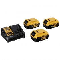 buy Power Tools Batteries - DeWalt DCB115P3-QW Battery-Kit (3 x 18 V / 5 Ah)