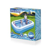 Piscina Bestway Family Pool ´´Blue Rectangular´´ Pool azul/white, 262c
