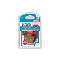 buy Printer Accessories - Dymo D1 Vinylband High Perpara 12 mm x 3 m White  to Red