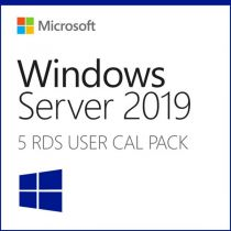Comprar Programas diversos - HPE WINDOWS SERVER 2019 CAL5 USER #TV JUN# P11077-A21
