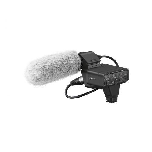Micrófono Sony XLR-K3M XLR Adapter-Kit + directional micrófono