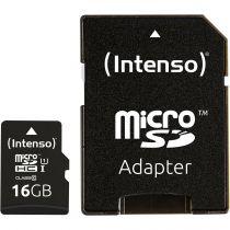 Comprar Tarjeta Micro SD / TransFlash - Intenso microSDHC           16GB Class 10 UHS-I Professional 3433470