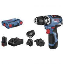 Comprar Atornilladores a batería - Bosch GSR 12V-35 FC Flexi Clic Taladro atornillador 06019H3000