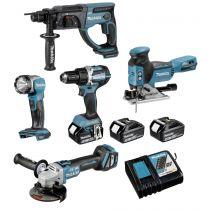 Comprar Accesorios - Makita DLX5044TJ Combo-Kit DLX5044TJ