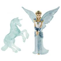 buy Animal Figures - Schleich bayala MOVIE   70587 Eyela + Unicorn Ice Sculpture