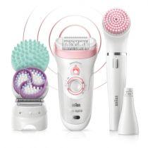 achat Epilateur - Braun Silk-epil Series 9-995 SensoSmart        Beauty Set 222996