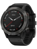 Comprar GPS Paseo Portatil  - Reloj deporte Garmin fenix 6 Sapphire negro 010-02158-11