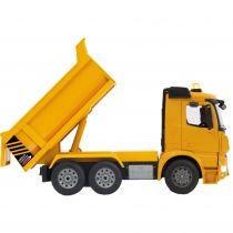 Comprar Vehículos teledirigidos - Jamara dumper Mercedes Arocs Amarillo scale 1:20 | + 6 años | 2,4 GHz  404940