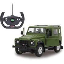 Comprar Vehículos teledirigidos - Jamara Land Rover Defender green scale 1:14 | 45 min. | + 6 años | 40  405155