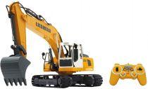 Comprar Vehículos teledirigidos - Jamara excavators Liebherr R936 1:20 2,4G Amarillo scale 1:20 | 30 min 405060