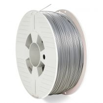 achat Accessoires Imprimante 3D - Verbatim 3D Imprimante Filament PLA 1,75 mm 1 kg Argent/metal grey 55319