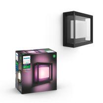 Comprar Iluminación decorativa - Philips Hue Econic LED Sconce squared black 8718696170564