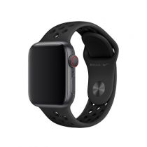 Apple Watch 40 mm Nike Sports bracelet, anthrazit/black, S/M, M/L