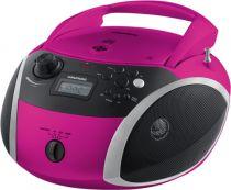 Comprar Radio Cassettes y reprodutores CD - Radio CD Grundig GRB 3000 BT Rosa/silver GPR1120