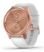 Comprar GPS Running / Fitness - Reloj deporte Garmin vivomove Style Rose gold/branco 010-02240-00