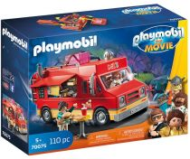 achat Playmobil - PLAYMOBIL 70075 THE MOVIE Del´s Food Truck | Movie | 110 pcs | + 5  |  70075