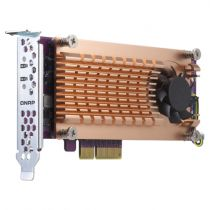 Comprar Accesorios Discos Duros - QNAP DUAL M.2 QM2-2P-384 PCIE SSD EXPANSION CARD QM2-2P-384