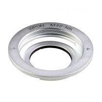 achat Adaptateur - Objectif - Kipon Adaptateur M42 Lens pour Nikon F 22065