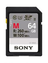 Comprar Tarjeta Secure Digital SD - Sony SDXC M Tough series    64GB UHS-II Class 10 U3 V60 SF-M64T