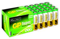 buy Batteries / Cells - Battery/Cell 1x40 GP Super Alkaline AA Mignon Batterien PET Box      0
