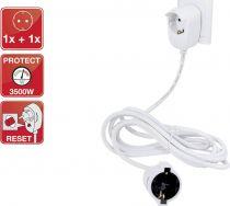 Comprar Adaptadores para Red - REV Safery sensor extension 3m Blanco Powersplit 0016130114 WS