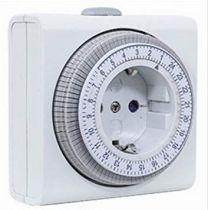 Comprar Adaptadores para Red - REV timer compakt mechanisch Blanco 0025020109 WS