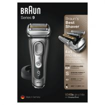 Rasoir pour homme Braun Series 9 - 9345s graphit/silver | Wet Dry | Ba