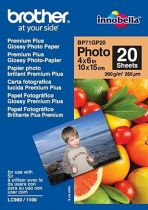 Comprar Consumibles POS - Brother PAPEL GLOSSY 10X15 260G/M2 20H BP71GP20