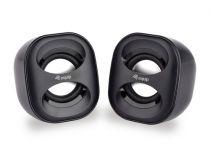 achat Haut-parleurs Autres marque - EQUIP LIFE MINI HAUT-PARLEURS 2.0 USB C/ REMOTE BLACK 245330