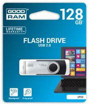 achat Clé USB - Goodram 128Go UTS2 Noir USB 2.0 UTS2-1280K0R11