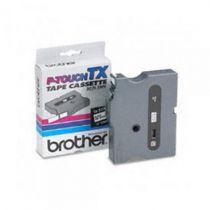 Comprar Cinta impresión - Brother Fita laminada - Texto Blanco sobre fundo Negro, Largura: 6mm,  TX315