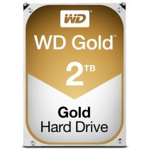 achat Disque dur interne - Western Digital HDD Gold  Enterprise 2To 128mb cache SATA 6 Gb/seg WD2005FBYZ