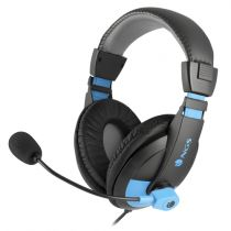 Comprar Cascos Otras Marcas - NGS Micrófono - Jack 3.5mm Quilted Earcup - Negro/Azul MSX9PROBLUE