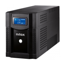 Comprar SAI / Protector de voltaje - Nilox SAI PREMIUM L.I SINEWAVE 2000VA NXGCLISW2K2X7V2