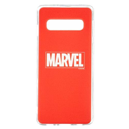 Tampa Marvel TPU Cover Samsung Galaxy S10+ Red - Produto licenciado