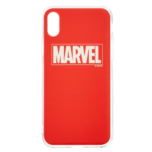 Tapa Marvel TPU Cover Apple iPhone X Red Producto Original licenciado