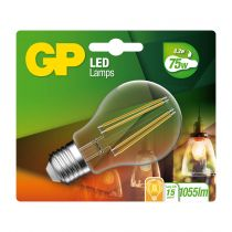 Comprar Lâmpadas LED - GP Lighting Filament Classic E27 LED 8,2W (60W)806lm DIM GP079934 745GPCLAS079934CE1