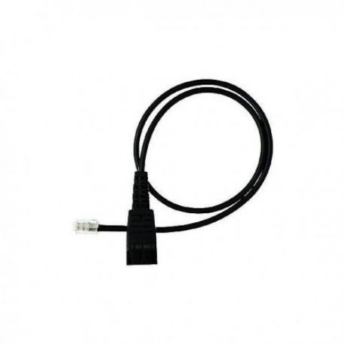 QD cord, straight, mod plug