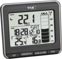 Comprar Termómetros / Barómetros - Estacion meteorológica TFA 47.3004.01 Estacion meteorológica/Regenmess 47.3004.01