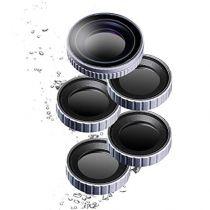 Comprar Filtros /objetivo Cámara Deporte - walimex pro Filtro Set CPL/ND/MC para DJI OSMO Action 22840