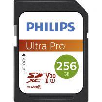 achat Secure Digital SD - Carte Mémoire Philips SDXC Card          256Go Class 10 UHS-I U3 V30  FM25SD65B/00