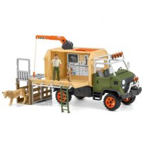 achat Figures Animaux - Schleich Wild Life    42475 Animal rescue large truck 42475
