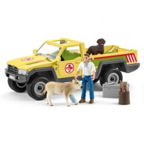 achat Figures Animaux - Schleich Farm World        42503 Veterinarian visit at the farm 42503