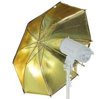 Comprar Luz de Estudio - Visico SOMBRINHA REVERSIVEL BLACK/GOLD 80cm VOUB006G