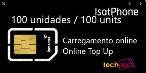 Cargamento ISATPHONE 100 UNIDADES