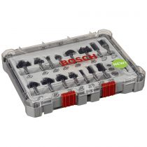 achat Accessoires - Perceuse - Bosch milling Set Mixed 15tlg. 2607017472