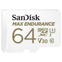 achat Micro SD / TransFlash - Carte Mémoire SanDisk Max Endurance       64Go microSDHC     SDSQQVR- SDSQQVR-064G-GN6IA